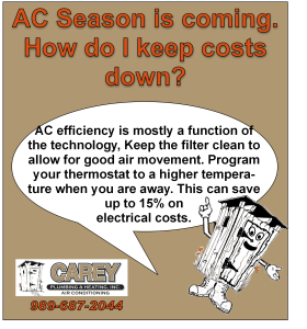 AC Efficiency Tips
